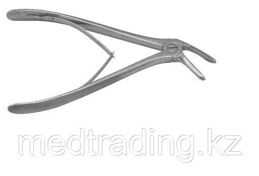 """Кусачки костные с удлиненными ручками для операций на позвоночнике по Янсену длиной 195 мм КпЯ-""""МИЗ-В"""" (Щ-62)"""