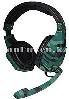 Игровые наушники с микрофоном  Tucci A3 Gaming Headset цвета камуфляжа