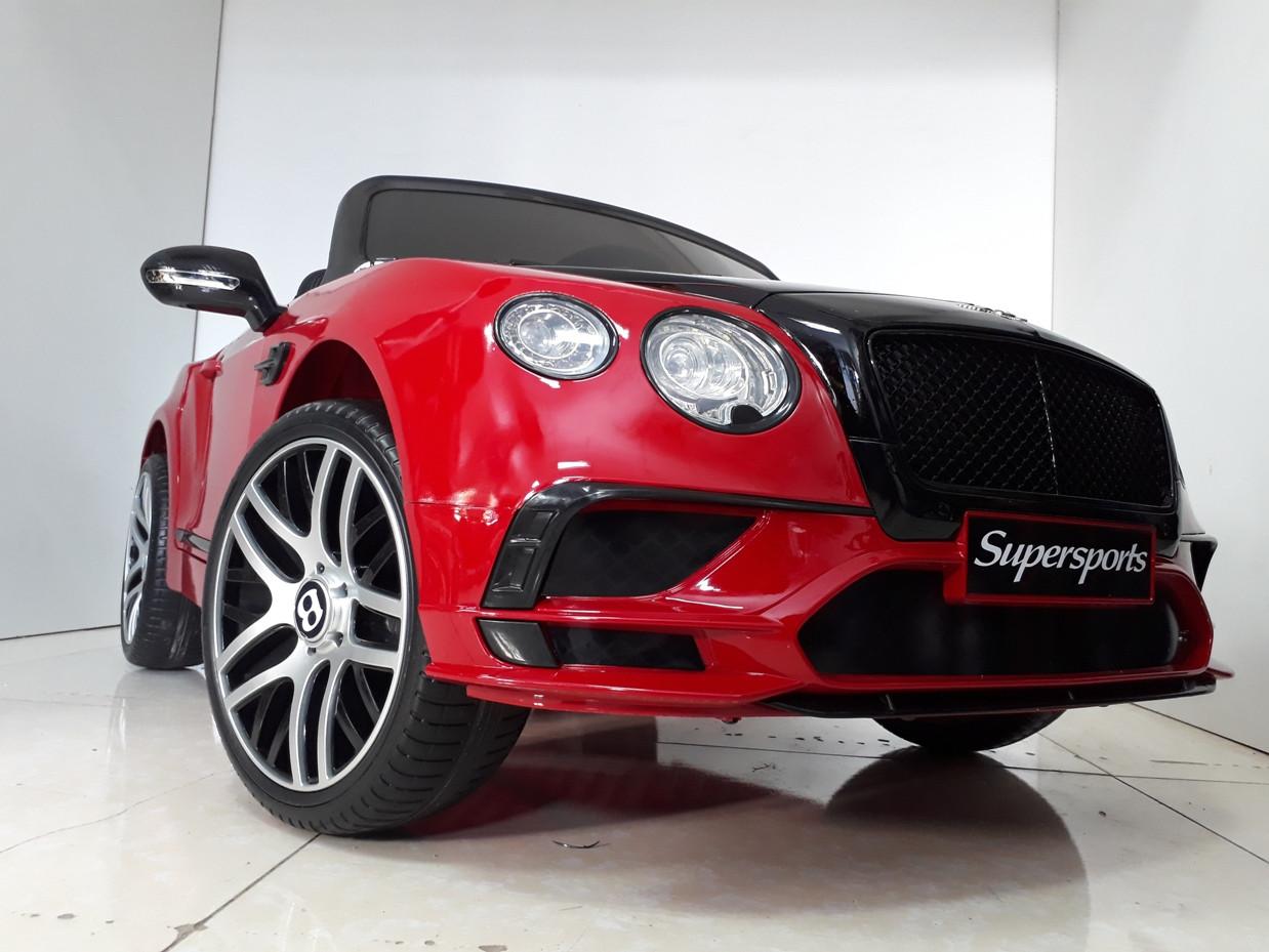 Двухместный лицензионный электромобиль Bentley Continental. Люкс-качество!