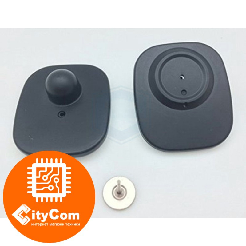 Антикражный датчик E-BF01 черная, Small Square tag RF Арт.4722