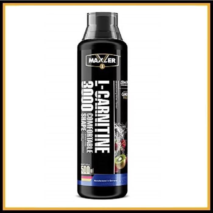 MXL. L-Carnitine 500 ml (3000 mg) Comf. Shape - (зеленое яблоко)