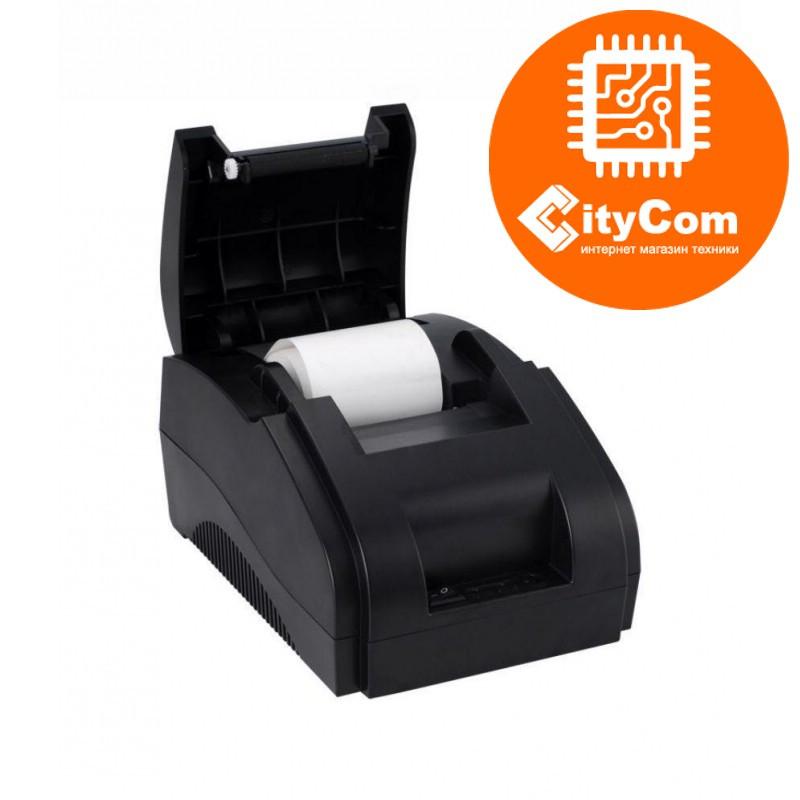 Принтер чеков Xprinter XP-58IIH, 58mm, USB POS термопринтер чековый для магазинов, бутиков, кафе и д Арт.4858