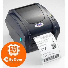Принтер этикеток TSC TTP-343C, USB/LAN термотрансферный маркировочный для штрих кодов, ценников и др Арт.4209