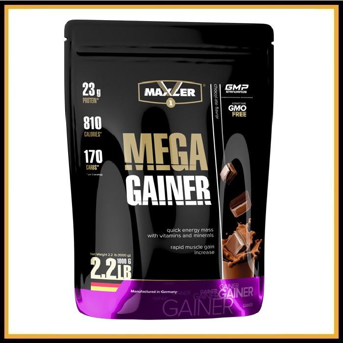 Maxler Mega Gainer 1 kg (клубника)