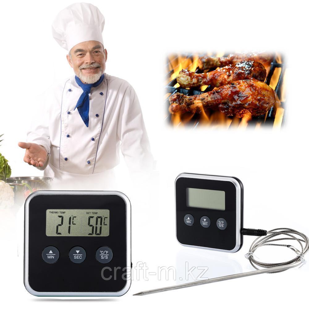 Термометр - таймер с выносным щупом