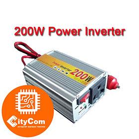 Инвертор автомобильный DC 12V to AC 220V. Конвертор с 12в в 220В. Преобразователь. Арт.2418