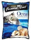 Fussie Cat 5 л (4кг) Морской комкующийся наполнитель для кошачьих туалетов