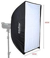 Софтбокс Godox SB-US6090, 60х90см, Bowens для студийных вспышек (Быстроскладной)