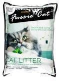 Fussie Cat 10 л (8,1кг) без ааромата комкующийся наполнитель для кошачьих туалетов, фото 1