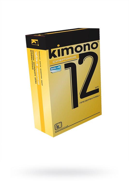 Презервативы kimono (супертонкие) 12шт.