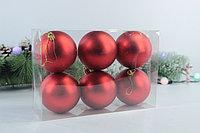 Ёлочные шары матовые (6 шт.), фото 3