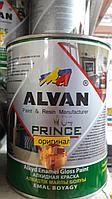 Краска алкидная черная 3,5 л/ ALVAN, фото 1