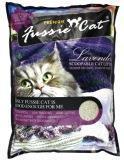 Fussie Cat 5 л (4кг) Лаванда комкующийся наполнитель для кошачьих туалетов