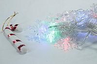 Гирлянда - снежинки, 3м, фото 4