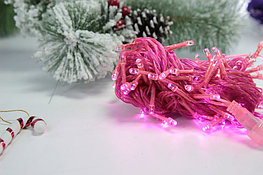 Гирлянда розовая
