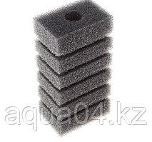 Губка прямоугольная запасная серая для фильтра турбо №6 (8х5х10.4 см)
