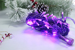 Гирлянда фиолетовая