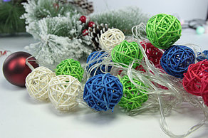 Гирлянда - цветные шарики