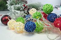Гирлянда - цветные шарики, фото 2