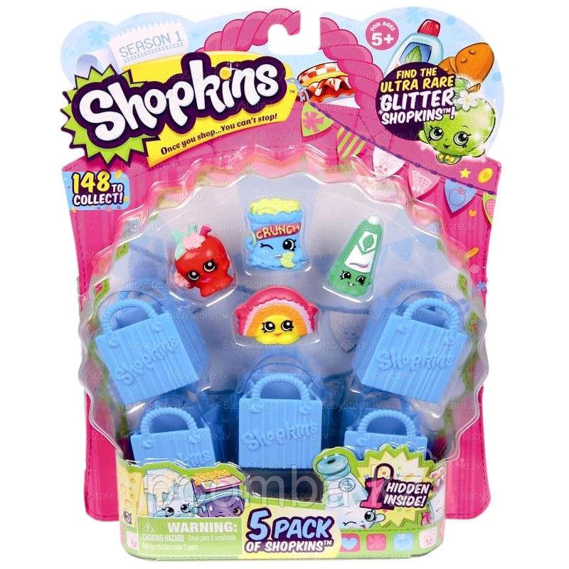 Shopkins (2 серия) в наборе 5 шт.