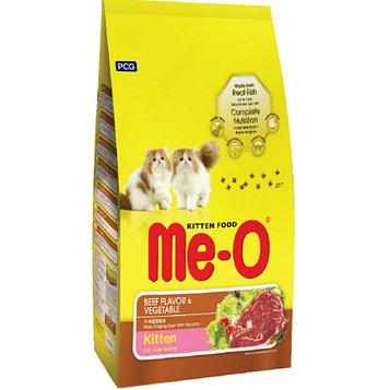 Me-О Сухой корм для котят со вкусом Говядина с овощами