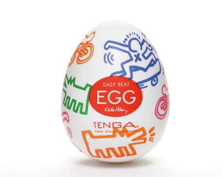 """Мастурбатор """"Tenga&Keith Haring Egg Street"""""""