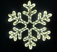 Светодиодная фигура снежинка 50*50, 144 LED