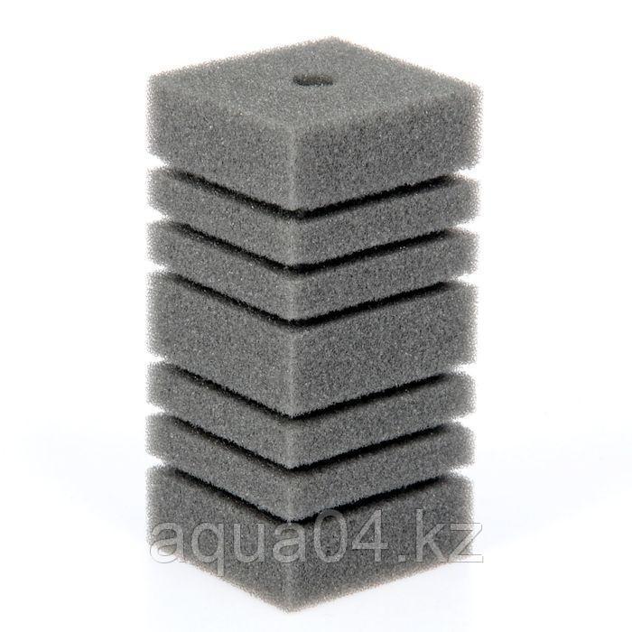 Губка прямоугольная запасная серая для фильтра турбо №9 (8х8х16 см)