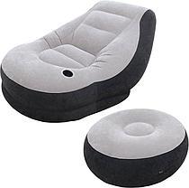 Надувное кресло с пуфиком Intex 68564 (Габариты: 99 х 130 х 76 см), фото 2