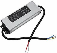 Источник питания тонкий 220V AC/24V DC, 3А, 72W с проводами, влагозащищенный (IP67)