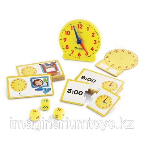 Развивающий набор «Учимся определять время» Learning Resources