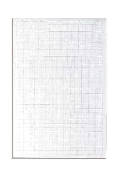 Блок бумаги для доски, 65х100см, 70гр, 20л, белый в клетку Donau