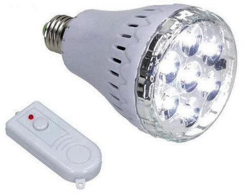 Лампа умная светодиодная YD-678 с аккумулятором и пультом ДУ, фото 2