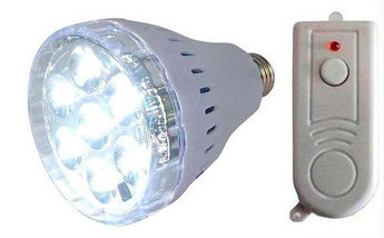 Лампа умная светодиодная YD-678 с аккумулятором и пультом ДУ, фото 3