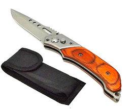 Нож выкидной автоматический Stainless (Желтый), фото 3