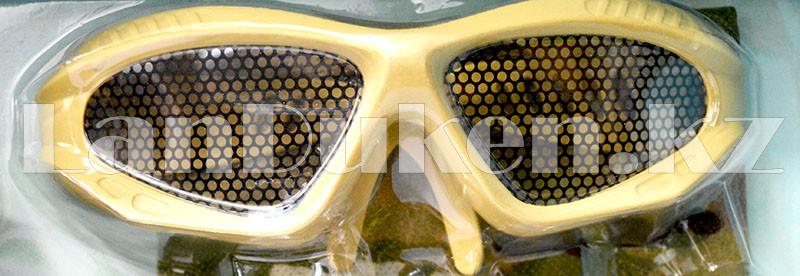 """Игровой набор военного """"Justice Force"""" песочный (автомат, шлем, очки и др) - фото 4"""