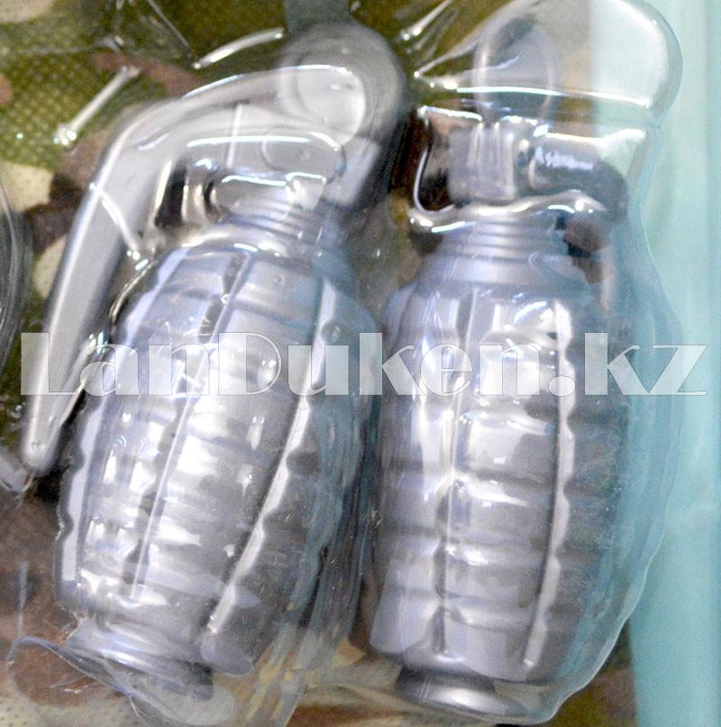 """Игровой набор военного """"Justice Force"""" песочный (автомат, шлем, очки и др) - фото 7"""