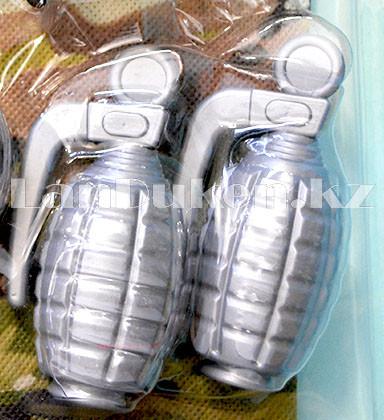"""Игровой набор военного """"Justice Force"""" зеленый (автомат, шлем, очки и др) - фото 6"""