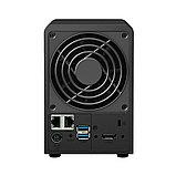 Synology DS718+ Сетевой NAS-сервер, 2 отсека для HDD, фото 2