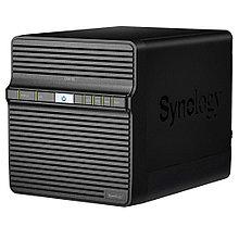 Synology DS418j Сетевой RAID-накопитель, 4xHDD NAS-сервер для дома и бизнеса.