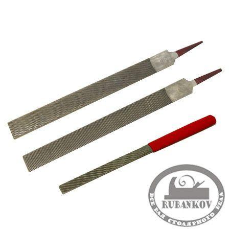 Рашпиль Iwasaki, красн, прямой, плоский, 200*20мм,шаг-1.6 мм