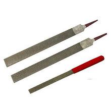 Рашпиль Iwasaki, красн, прямой, плоский, 200*20мм, шаг-1.2 мм