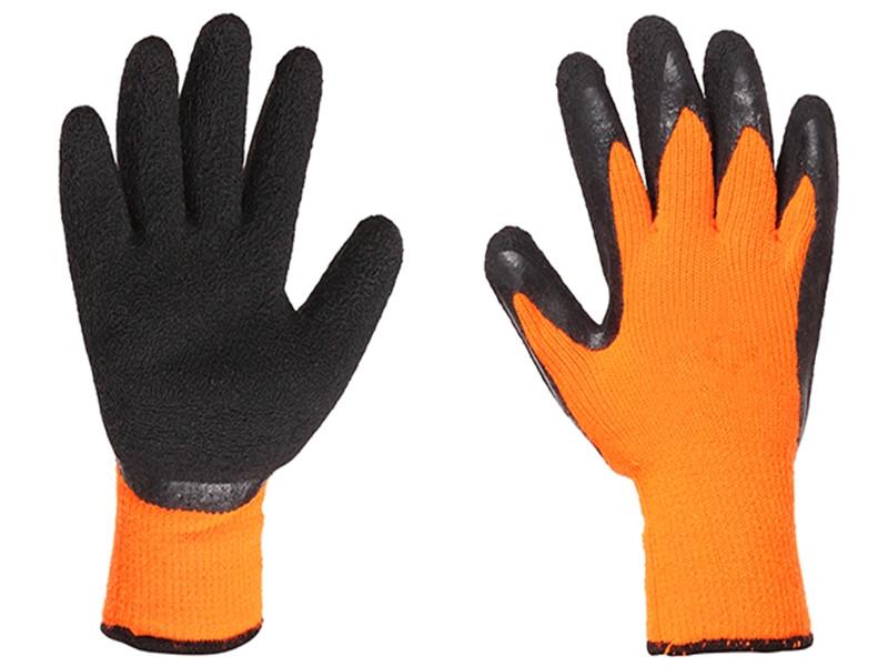 Перчатки прорезиненные оранжевые #300
