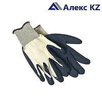 Перчатки обливная ладонь из латекса синтетика класс №6