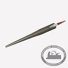 Рашпиль Iwasaki, красный, конусный, полукруглый, 200*20*5мм, шаг-1.2мм