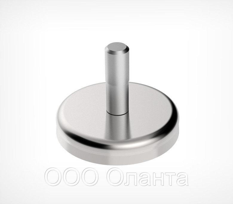 Подставка на магните для крепления на металлических поверхностях (d=9 мм)
