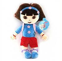Мягкая игрушка Кукла Дора, 50 см из мультфильма Даша Путешествиница