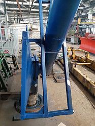Шнек загрузчик зерна сеялок с гидромотором МГП125 с бортом и регулировкой высоты