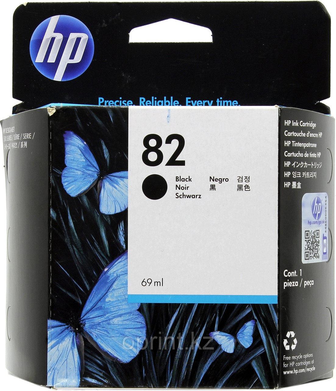 Картридж HP Black №82
