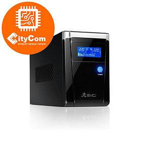 Источник Бесперебойного питания UPS SVC V-800-F-LCD, Smart, USB, 800VA, 480Вт, AVR стабилизатор Арт.1021
